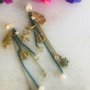 Betsey Johnson - Seahorse Earrings