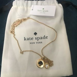 Kate Spade necklace with charm