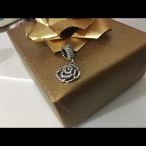 Nwt simmering rose charm