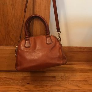 J. Crew brown leather purse