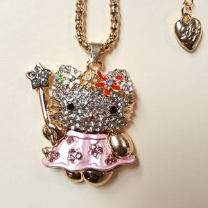 Hello Kitty Necklace by Betsey Johnson