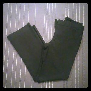 Dark Grey Gap Work Pants