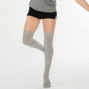 Treadfast Ceanne Thigh High Barre Socks