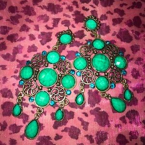 Gorgeous Turquoise Earrings