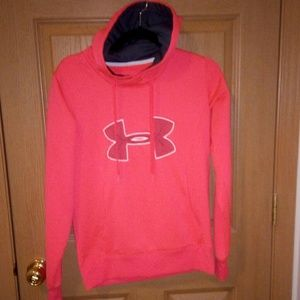 Under Armour Hoodie Size Small Semi Fitted