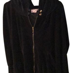 Long juicy zip up hoodie
