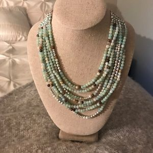 Stella and Dot multi bead necklace!