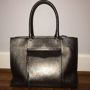 NWT Rebecca Minkoff Mab bag in gorgeous gunmetal