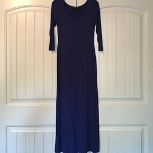 Cynthia Rowley Dark Periwinkle Maxi Dress