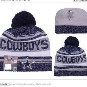 Dallas cowboys beanie hat