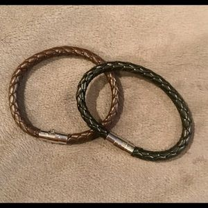 Men or Women's Leather Bracelets