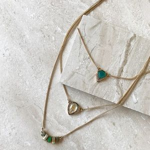 Emerald Delicate Necklace