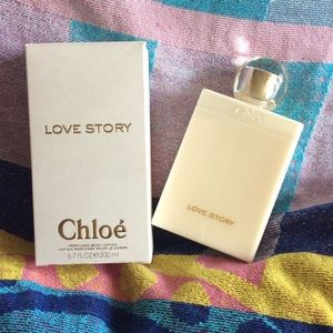 Chloe love story body lotion 6.7 oz NEW