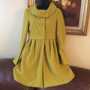 💞Forever Twenty one💞lime yellow coat