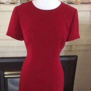 Donna Morgan Petites Red Dress