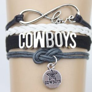 Dallas cowboys charm bracelet