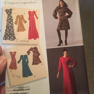 Simplicity Dress Sewing Pattern 6-14