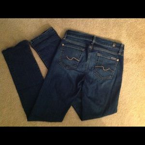 """7 For All Mankind 26"""" skinny"""