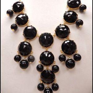 J.Crew Bubble Necklace - Black