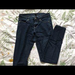 Dark Wash Skinny Jeans (Forever 21)