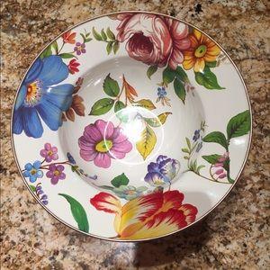 MacKenzie-child's serving bowl