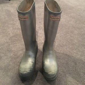 Hunter rain boots MAKE ME AN OFFER