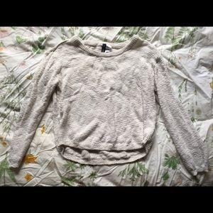 Soft White Sweater (H&M)