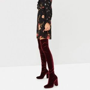 ✨ Jeffery Campbell Cienega Over the Knee Boots ✨