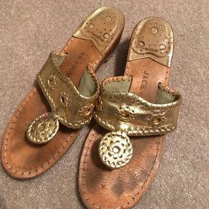 Jack Rogers Mid Wedge Sandal Size 7 🌻