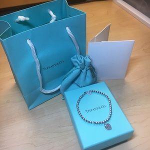 Tiffany & Co heart bracelet! Good condition