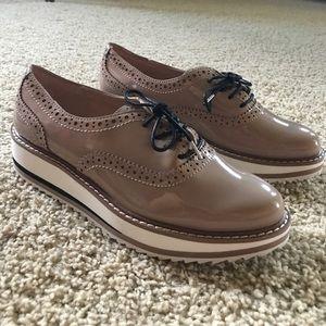 NWOT Zara Platform Shoes