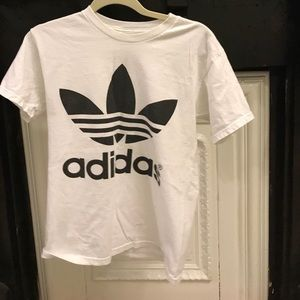 Adidas trefoil tee shirt from urban outfitters