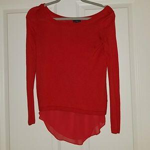 Express Layered Sweater