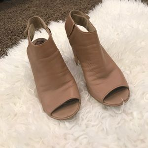 Steve Madden Nude color booties
