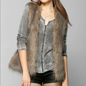 All Faux You Fur Vest