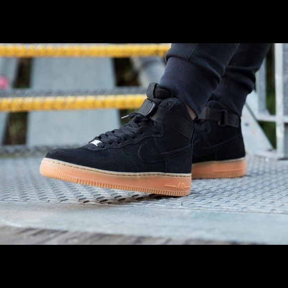 new style nike air force 1 gum suede ad1be a013a