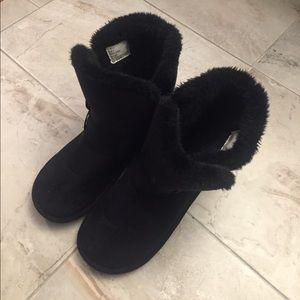Steven Madden Faux Fur Booties