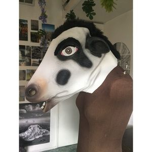 Other - Morbid Enterprises Cow Head Halloween Mask