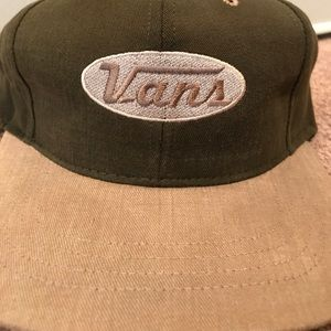 574130e2eae Vans Accessories - Vintage Vans Made In USA Adjustable Hat