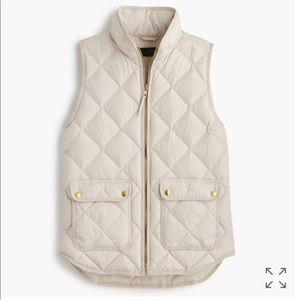 pre loved ❤️ JCrew excursion quilted puffer vest