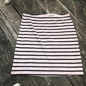 Xs black stripped skirt 💕