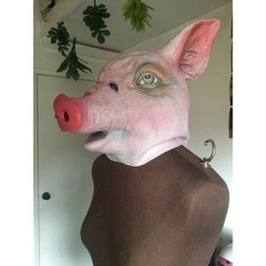 Other - Halloween pig head mask