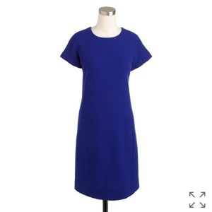 J. Crew Double Faced Wool Crepe Dress