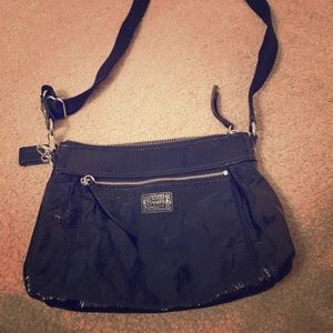 Only used once or twice cross body coach bag