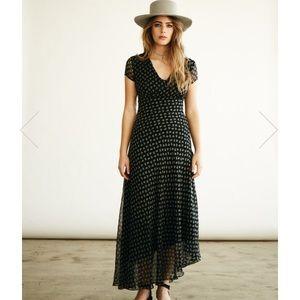 between ten maxi dress