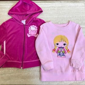 67% off Sanrio Other - Hello Kitty Christmas Sweater Girls from ...