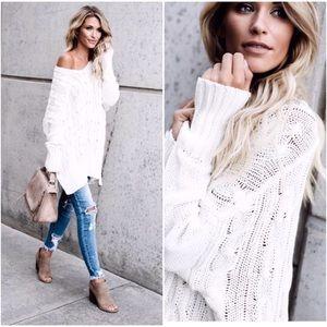 🆕PREORDER Cream Knit Sweater