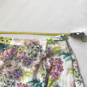 Anthropologie Skirts - floral skirt