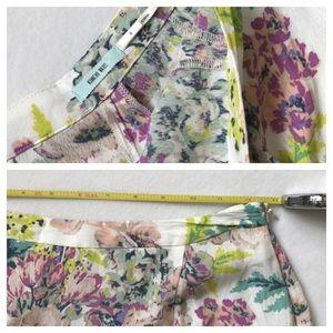 Anthropologie Skirts - floral skirt