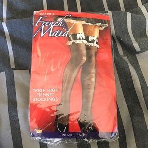 French Maid fishnet